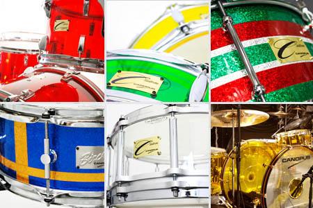 カスタムドラム、オリジナルドラムイメージ