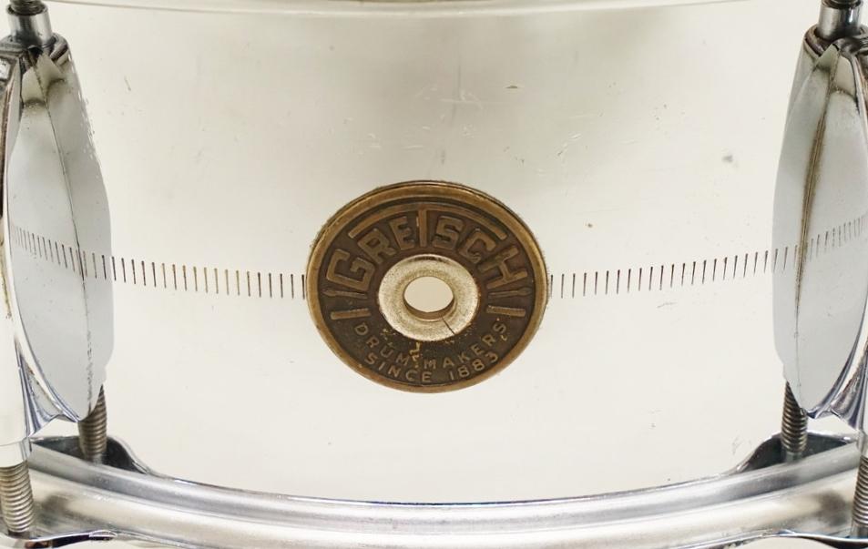 "【Vintage】Gretsch 60's Round Badge 4160  C.O.B. 14""x5"" 訳あり特価!"
