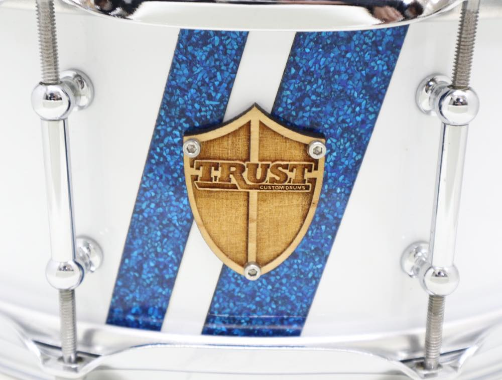 USED TrustCustomDrums メイプルスネア 14 x5.5  7ply
