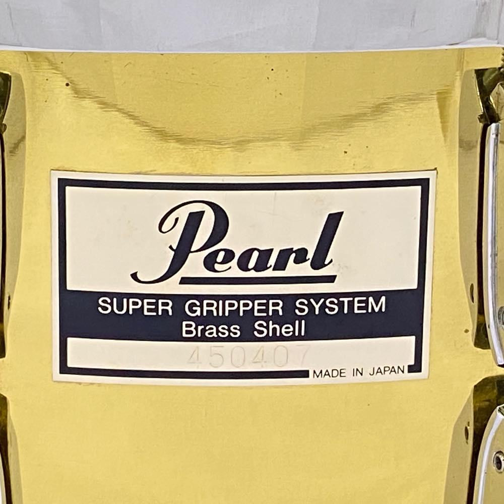 USED Pearl ブラスシェルスネア 14×6.5!