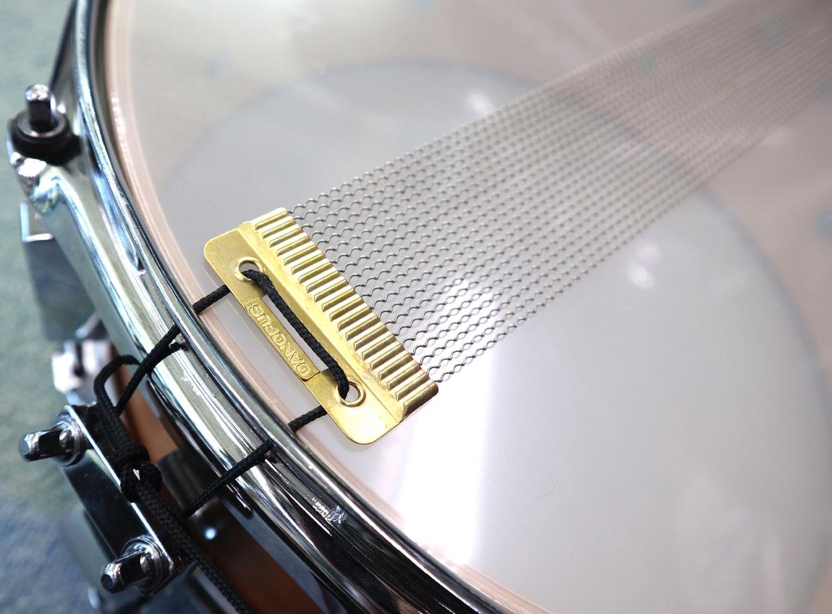 期間限定練習パッド付き YAIBA2 JSB-1455 5.5x14 Snare Drum Antique Ebony Mat LQ