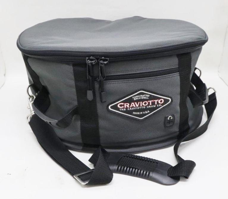 """【USED】Craviotto/クラビオット 単板Maple DiamondCast 14""""x6.5""""専用ソフトケース付!"""